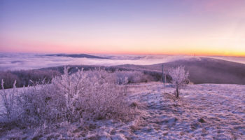 Velká Javořina východ slunce_1600
